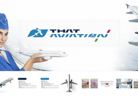 THAT AVIATION ITALIA RINNOVA LA SUA IMMAGINE <br> IL RESTYLING DEL LOGO RACCONTA LA STORIA DI THAT!