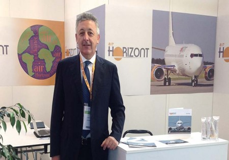 AIR HORIZONT: ACMI, CHARTER PLANES, FLIGHT SERIES <br> AN INTERVIEW WITH GIORGIO VALENTI, AIR HORIZONT SALES AGENT ITALY